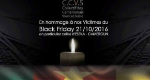 COLLECTIF DES CAMEROUNAIS VIVANTS EN SUISSE