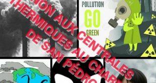 Côte d'Ivoire : Protestation  contre la construction de deux Centrales Thermiques au Charbon