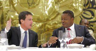 Le président togolais Faure Gnassingbe accusé d'avoir financé la campagne de Manuel Valls