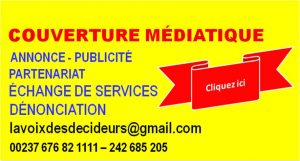 Contact : lavoixdesdecideurs@gmail.com - Tel : 00237 676 82 11 11
