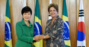 Portrait de Dilma Rousseff et Park Geun-Hye, deux femmes chefs d'Etat destituées pour corruption