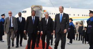 Le président camerounais Paul BIYA en Visite d'Etat en Italie